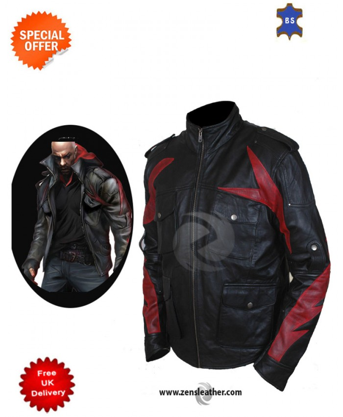 Alex Mercer Prototype 2 Gaming Leather Jacket