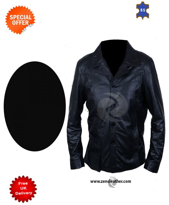 Killing Them Softly Brad Pitt Soft Sheep Skin Stylish Look Leather Jacket