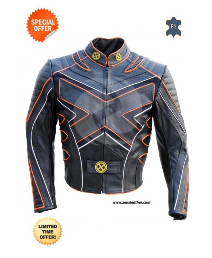XMEN X3 THE LAST STAND SPECIAL MOTORCYCLE LEATHER JACKET