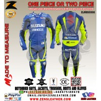 Motorbike GSXR leather racing suit similar to Andrea Iannone wear in motogp