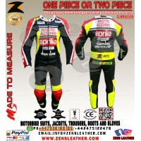 Aprilia racing gear similar to Valentino Rossi Aprilia GP leather suit one piece