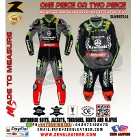 JONATHAN REA NINJA MOTOCARD SBK 2018 LEATHER RACE SUIT ONE PIECE OR TWO PIECE