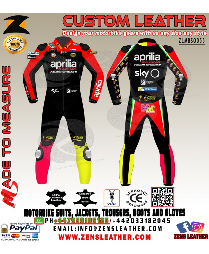 Buy Online Shop Andrea Iannone Aprilia MotoGP 2020 motorbike Leather Race Suit