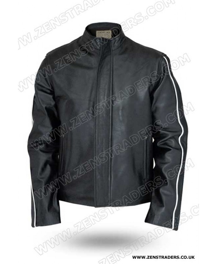 Fantastic Vintage Leather Motorcycle Jacket for Men