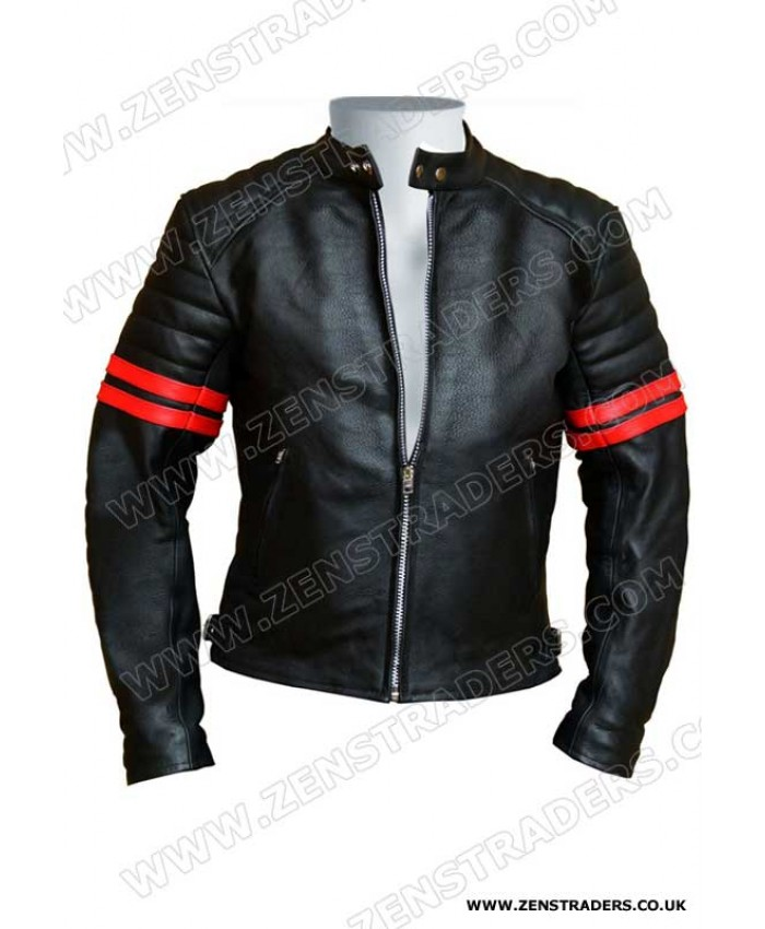 Racer Retro Leather Jacket